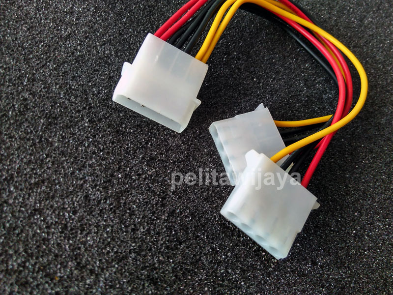 Kabel Power Molex PSU Cabang