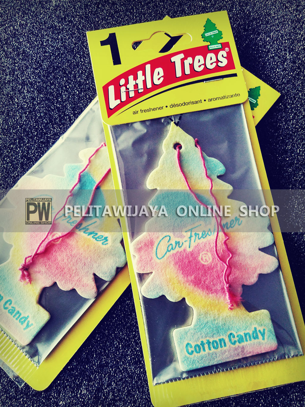 Pengharum Little-Trees-Cotton-Candy