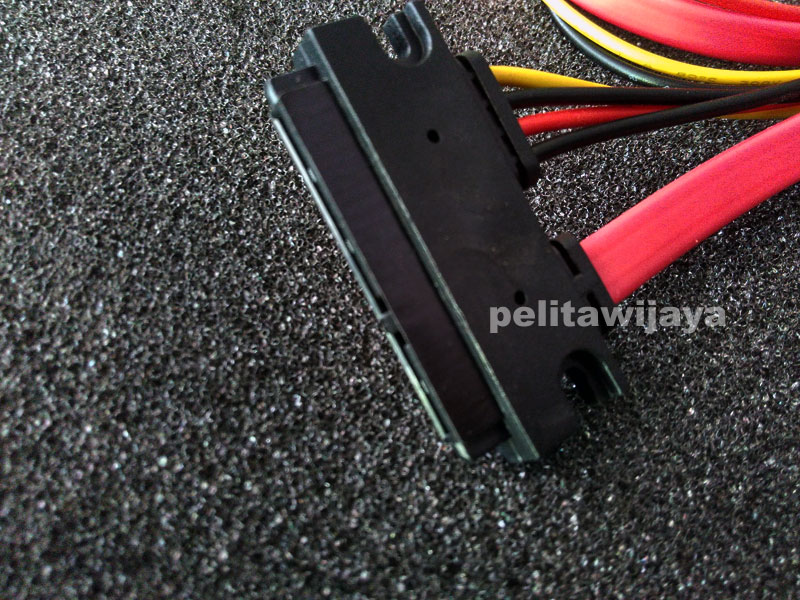 Kabel Sata Slimline 7-15Pin Male Female